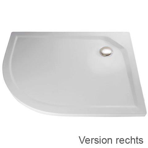 hsk duschwanne viertelkreis asymmetrisch 100 x 90 cm arcom center. Black Bedroom Furniture Sets. Home Design Ideas