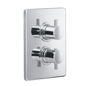 HSK UP Thermostat mit Absperrventil Eckig