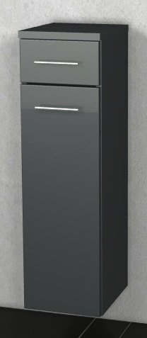 Marlin Aqua Highboard 40 cm 1 Tür 1 Schubkasten