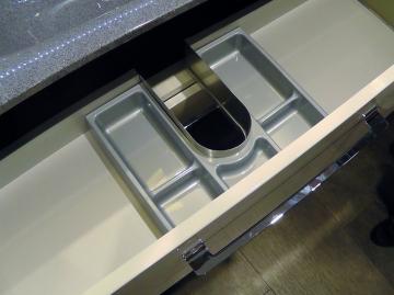 Marlin Bad 3130 - Azure | Schubkasteneinsatz für WT-Unterschrank