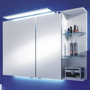Marlin Bad 3130 - Azure Spiegelschrank H | 100 cm