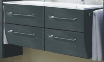 Marlin Bad 3130 - Azure Waschtisch-Unterschrank | 120 cm