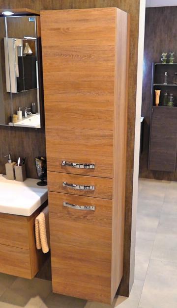 Marlin Bad 3060 | Hochschrank 40 cm mit 2 Türen + 1 Auszug