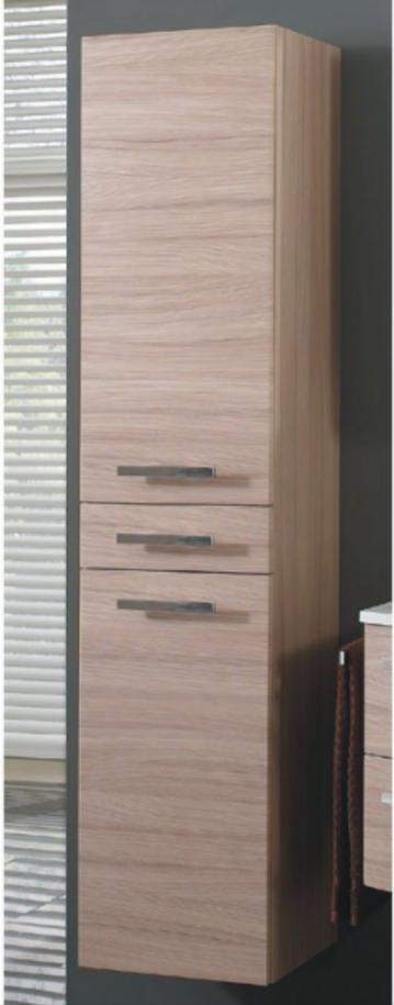 Marlin Bad 3090 - COSMO | Hochschrank 2 Türen + 1 Schubkasten 40 cm