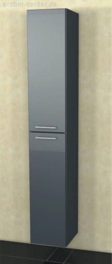 Marlin Bad 3090 - COSMO | Hochschrank 2 Türen 40 cm [ Tiefe 17,6 cm ]