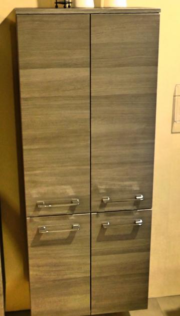 Marlin Bad 3090 - COSMO | Mittelschrank + 4 Türen 60 cm
