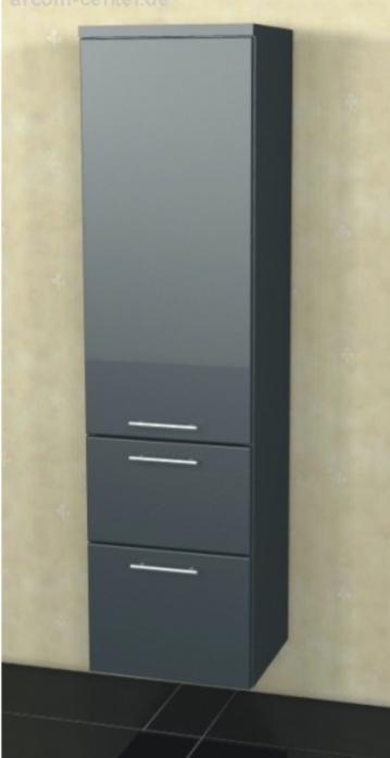 Marlin Bad 3090 - COSMO Mittelschrank 2 Auszüge + 1 Tür 40 cm