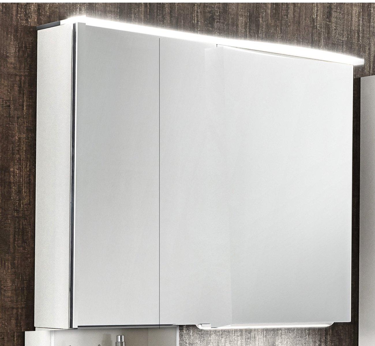 marlin bad 3090 cosmo spiegelschrank 90 cm robinie arcom center. Black Bedroom Furniture Sets. Home Design Ideas