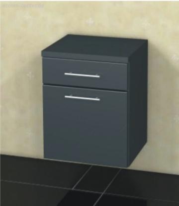 Marlin Bad 3090 - COSMO | Unterschrank 1 Tür + 1 Schubkasten 40 cm