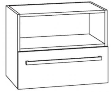 Marlin Bad 3090 - COSMO WT-Unterschrank 60 cm 1 Regal oben