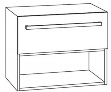 Marlin Bad 3090 - COSMO WT-Unterschrank 30 cm 1 Regal unten