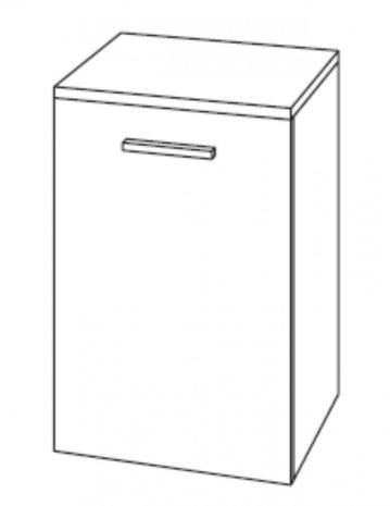 Marlin Bad 3100 - Scala Unterschrank | 40 cm + 1 Tür