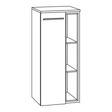 Marlin Bad 3160 - Motion | Highboard 40 cm mit 1 Tür + Einschubregal