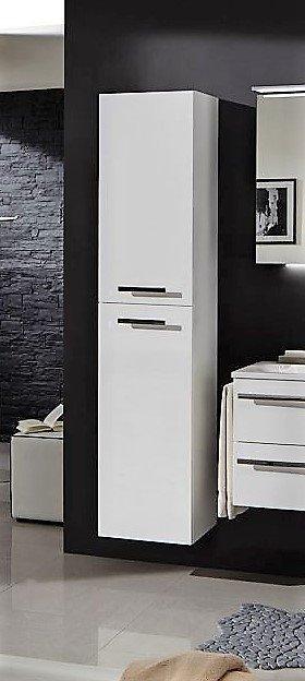 Marlin Bad 3160 - Motion | Hochschrank 2 Türen | Breite 30 cm