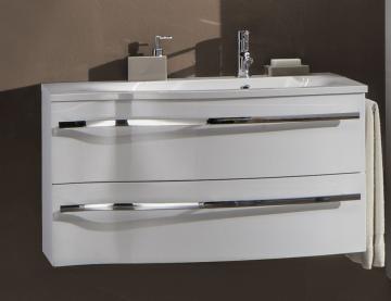 Marlin Bad 3160 - Motion Waschtischunterschrank 90 cm Links