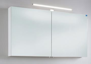 Marlin Bad 3030 - Christall Spiegelschrank B 120 cm + Doppelspiegel