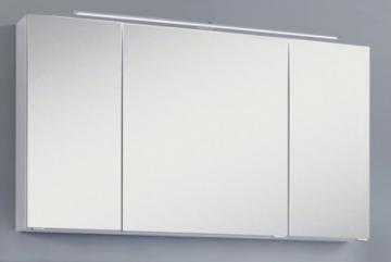 Marlin Bad 3040 - City plus Spiegelschrank C + LED Beleuchtung LL94 / 120 cm