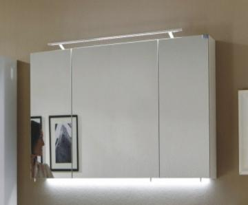Marlin Bad 3040 - City plus Spiegelschrank D + LED Leuchte RL60 / 90 cm