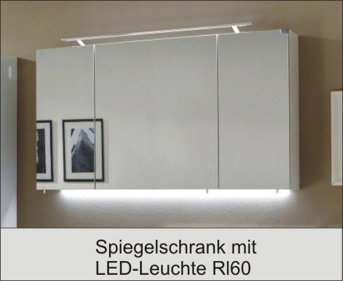 marlin bad 3040 city plus spiegelschrank d led leuchte rl90 120 cm arcom center. Black Bedroom Furniture Sets. Home Design Ideas