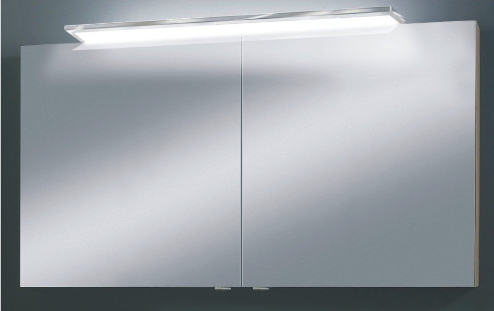 marlin cosmo spiegelschrank 120 cm mit led arcom center. Black Bedroom Furniture Sets. Home Design Ideas