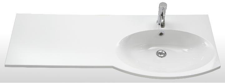 marlin bad 3090 cosmo waschtisch 120 cm ablage links arcom center. Black Bedroom Furniture Sets. Home Design Ideas