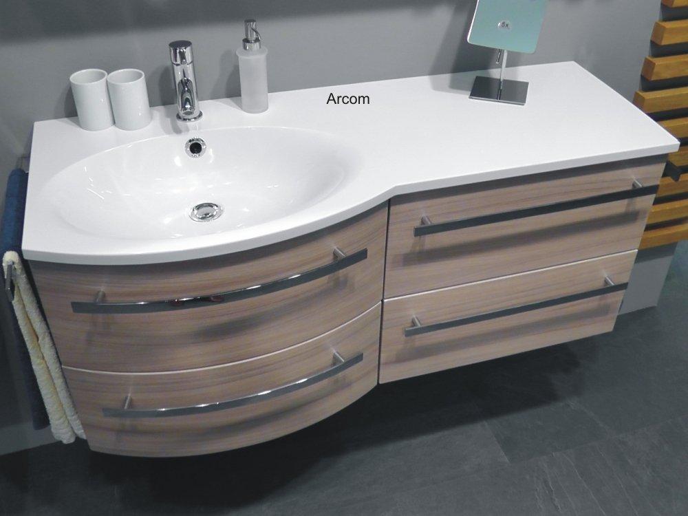 marlin bad 3090 cosmo waschtisch 120 cm ablage rechts arcom center. Black Bedroom Furniture Sets. Home Design Ideas