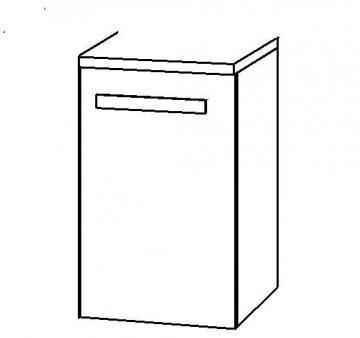 Marlin Bad 3090 - COSMO WT-Unterschrank 30 cm 1 Tür