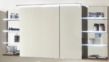 Marlin Bad 3160 - Motion Spiegelschrank A 150 cm Rechts mit 2 Regalen + Aufsatzleuchte