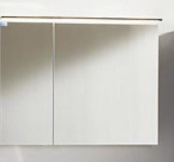 Marlin Bad 3160 - Motion Spiegelschrank A 90 cm Links + Aufsatzleuchte