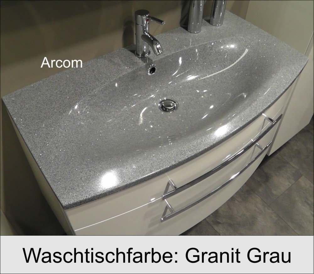 marlin scala set c 120 cm - badmöbel - arcom center, Wohnzimmer dekoo