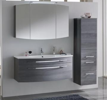 Marlin Bad 3100 - Scala Badmöbelset D 120 cm Spiegelschrank