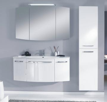 Marlin Bad 3100 - Scala Badmöbelset E 120 cm Spiegelschrank