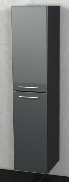Marlin Bad 3100 - Scala Hochschrank | 30 cm + 2 Türen