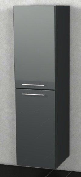Marlin Bad 3100 - Scala Hochschrank | 40 cm + 2 Türen [Tiefe 17,6 cm]