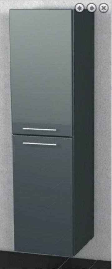 Marlin Bad 3100 - Scala Mittelschrank | 40 cm + 2 Türen