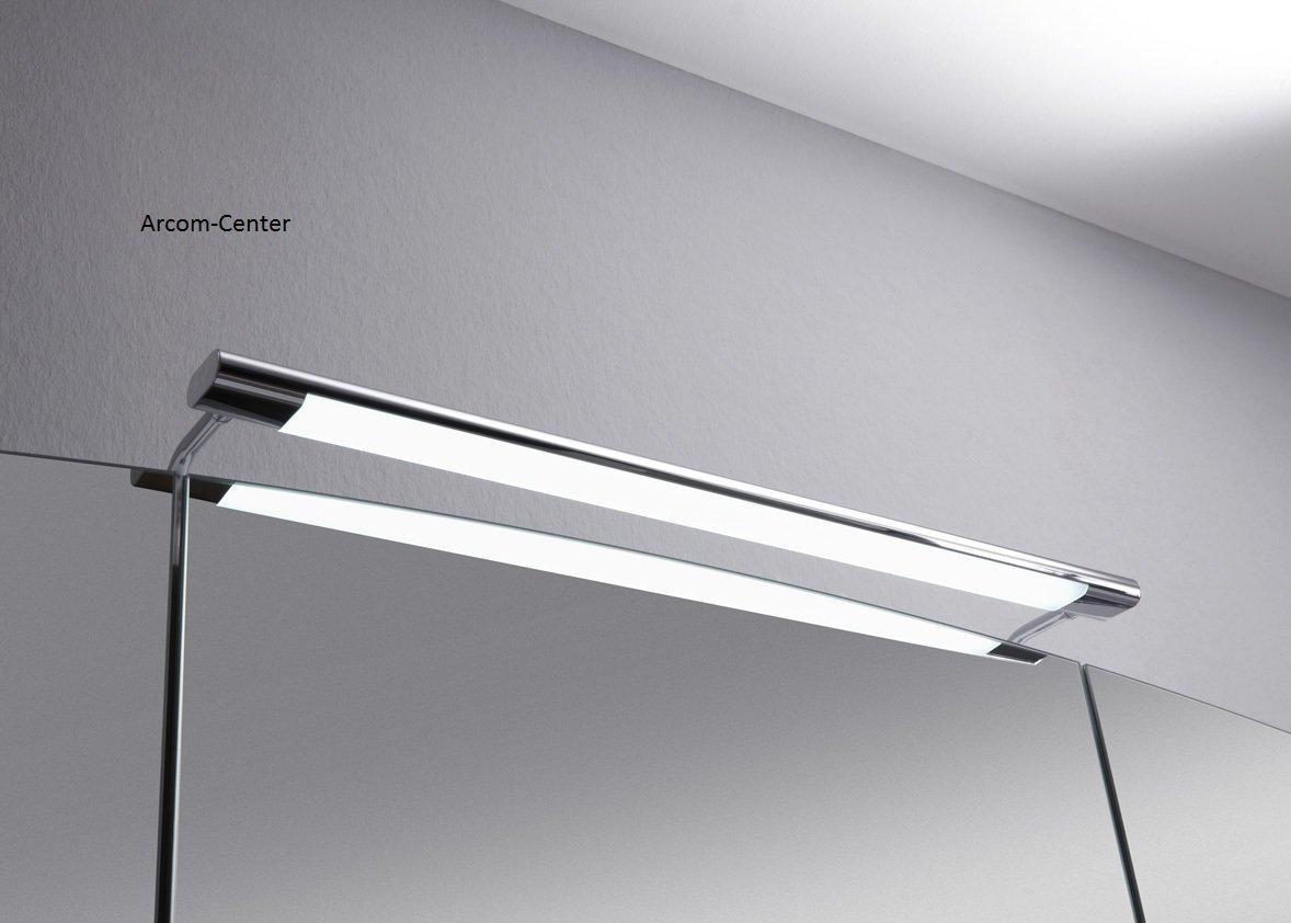 marlin bad 3100 scala spiegelschrank 120 cm mit led band arcom center. Black Bedroom Furniture Sets. Home Design Ideas