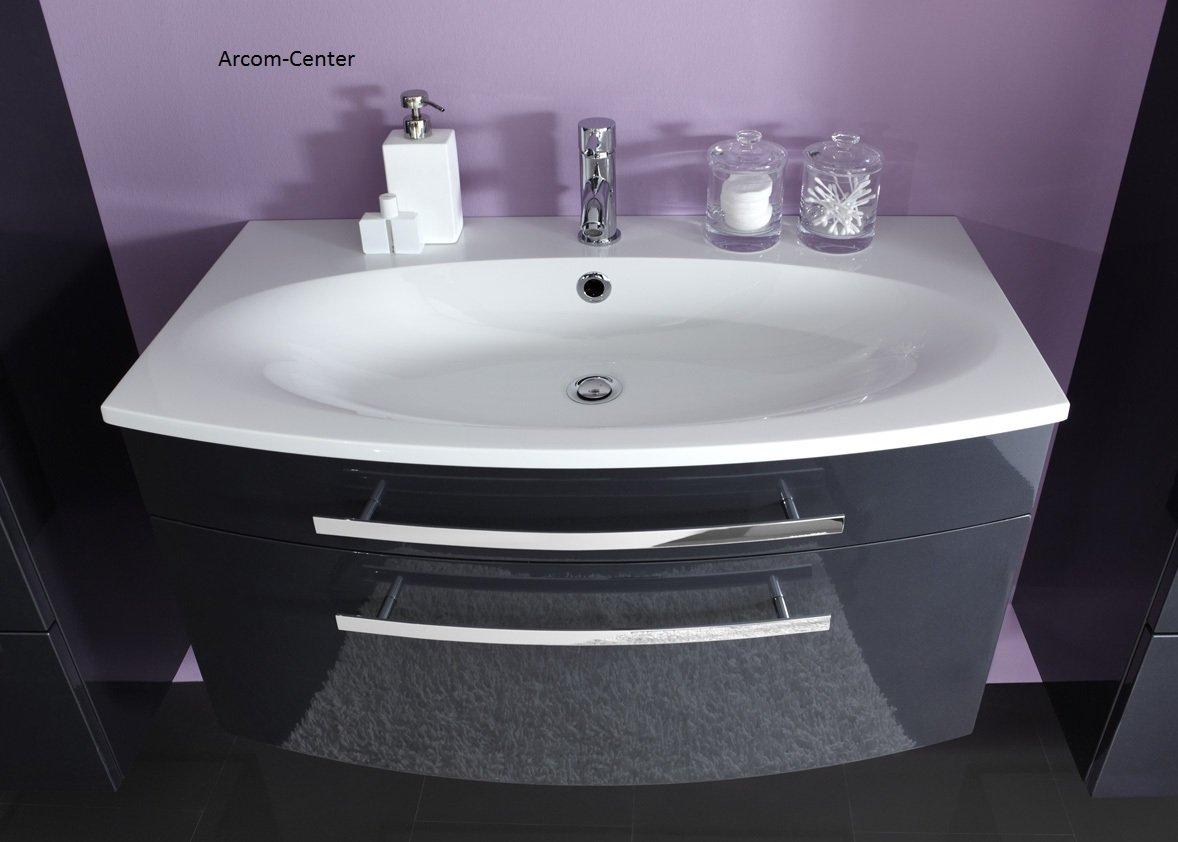 marlin bad 3100 scala waschtischunterschrank 90 cm mit 2 ausz gen. Black Bedroom Furniture Sets. Home Design Ideas