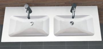 PCON Doppel-Waschtisch J | Duravit DuraStyle | 130 cm