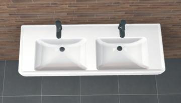 PCON Doppel-Waschtisch E | Laufen PRO | 130 cm