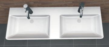 PCON Doppel-Waschtisch L | Laufen Pro S | 130 cm