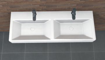 PCON Doppel-Waschtisch O | Ideal Standard Strada | 121 cm