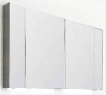 PCON Spiegelschrank | Doppelt verspiegelt | 118 cm
