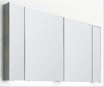 PCON Spiegelschrank | Doppelt verspiegelt | 126 cm