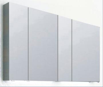 PCON Spiegelschrank | Doppelt verspiegelt | 135 cm