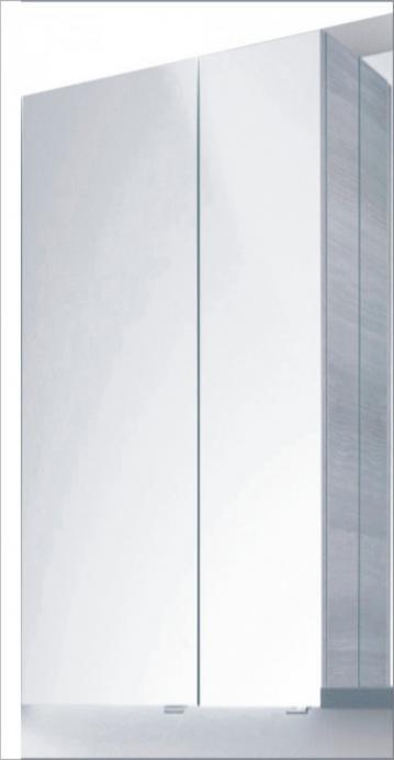 PCON Spiegelschrank | Doppelt verspiegelt | 59 cm