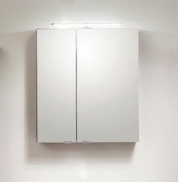 PCON Spiegelschrank | Einfach verspiegelt | 75 cm