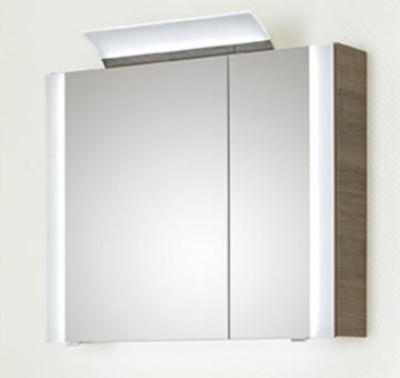 PCON Spiegelschrank | Acrylblenden | 85 cm