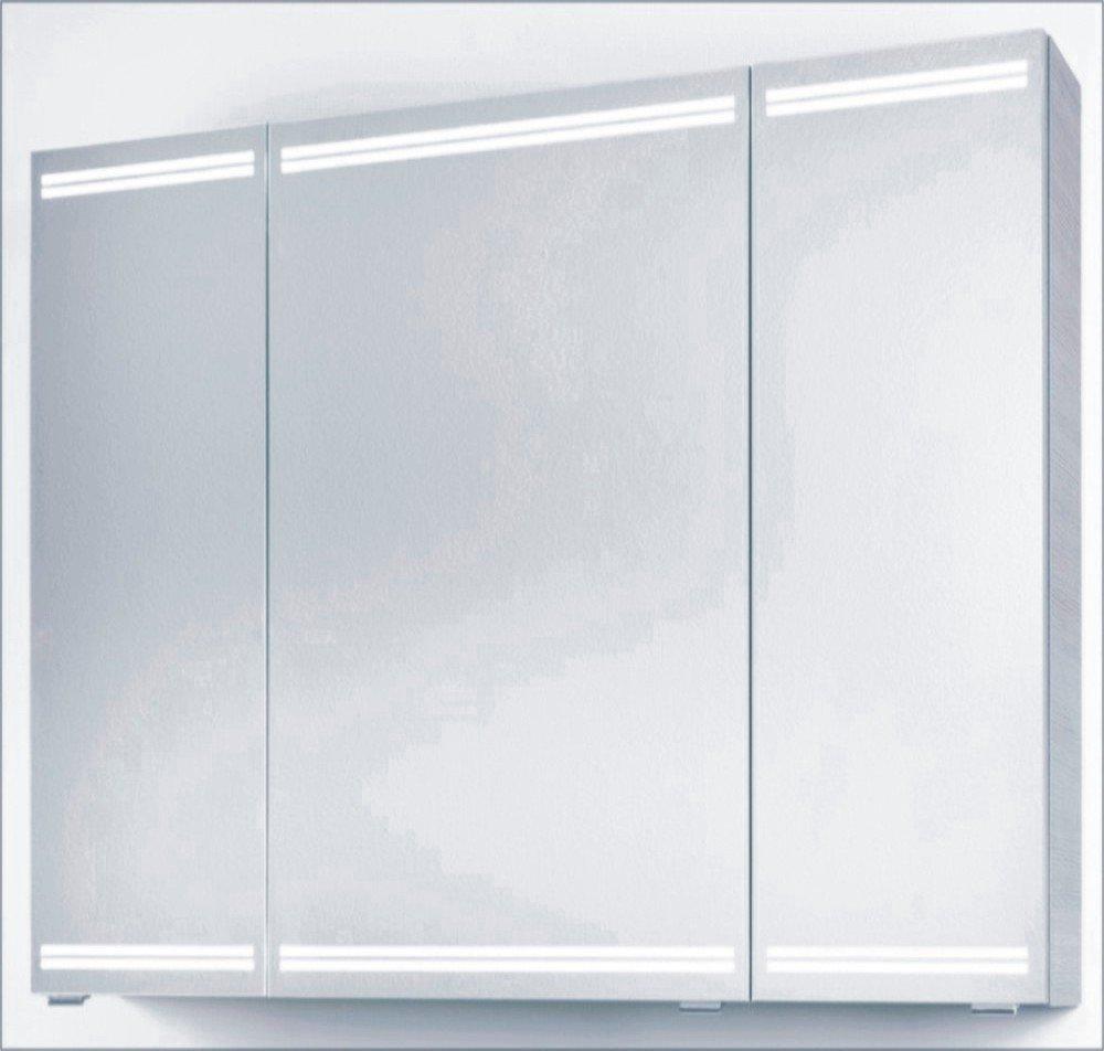 PCON Spiegelschrank | LED Beleuchtung | 107 Cm ...