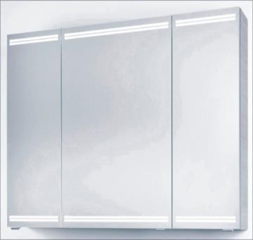 PCON Spiegelschrank | LED-Beleuchtung | 107 cm