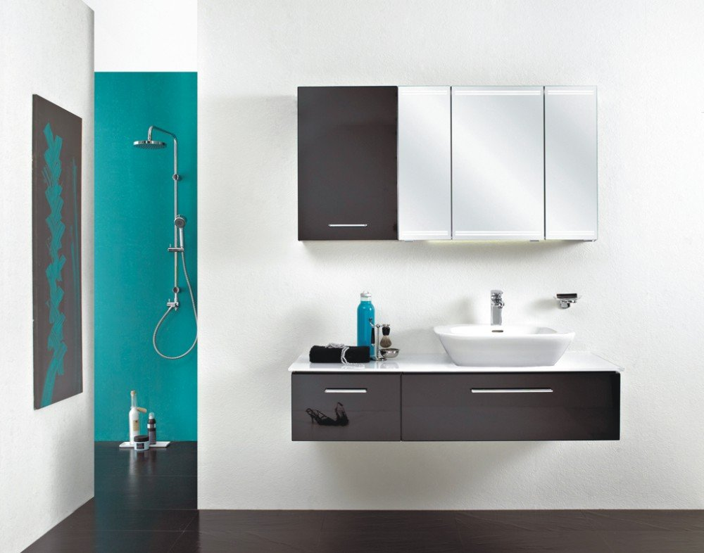 pelipal pcon spiegelschrank mit led beleuchtung arcom center. Black Bedroom Furniture Sets. Home Design Ideas
